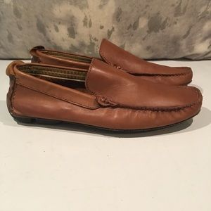 ❌DAMAGED ALDO BROWN DRIVING LOAFERS SIZE 8❌